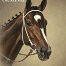 Rachel Alexandra Cross Stitch Pattern Horses Preakness ETP