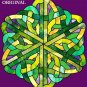 Celtic Knot Cross Stitch Pattern Stained Glass Look ETP