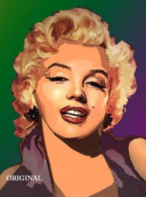 Marilyn Monroe #3 Cross Stitch Pattern Blond Bombshell JFK ETP