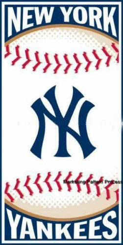 New York Yankees Cross Stitch Pattern Baseball ETP