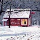Coke Seasons Greetings Cross Stitch Pattern Coca Cola ETP