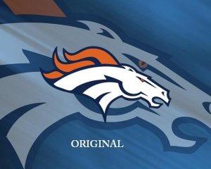 Denver Broncos 1 Cross Stitch Pattern Football ETP