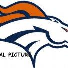 Denver Broncos 2 Cross Stitch Pattern Football ETP