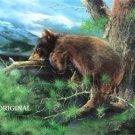 Bear in Tree Cross Stitch Pattern ETP