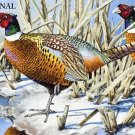 Pheasant Pair Cross Stitch Pattern Game Birds ETP