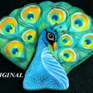 Peacock Study Cross Stitch Pattern Birds ETP