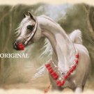 Arabian Prince Horse Cross Stitch Pattern ETP