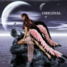 Pink Angel Cross Stitch Pattern Fantasy ETP