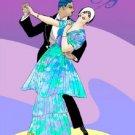 Art Deco Tango Cross Stitch Pattern Dance Roaring 20's ETP