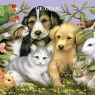 Adorable Pets Cross Stitch Pattern Dogs Cats Birds Bunnies ETP