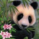 Adorable Panda Cross Stitch Pattern Bears Oriental ETP