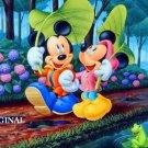 Mickey & Minnie Cross Stitch Pattern Disney ETP