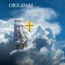 Sailing With God Cross Stitch Pattern Christian Messianic ETP