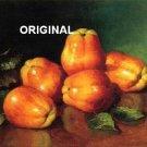 Apples ~ Still Life Cross Stitch Pattern Fruit ETP