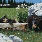 Bears & Wildflowers Cross Stitch Pattern ETP