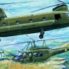 CH47A Chinook Helicopter Cross Stitch Pattern Military ETP