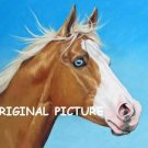 Blue Eyed Horse Cross Stitch Pattern ETP