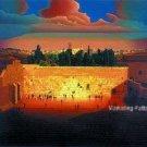 Wailing Wall Cross Stitch Pattern Jewish Judaica Messianic ETP