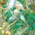 Parakeets Cross Stitch Pattern Parrots Birds ETP