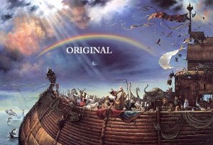 Noah's Ark Cross Stitch Pattern Bible Christian ETP