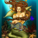 Mermaid Cross Stitch Pattern Fantasy ETP