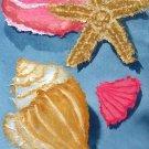 Seashells Cross Stitch Pattern Beach Starfish ETP