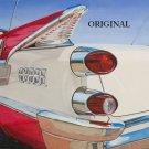1959 Dodge Lancer Cross Stitch Pattern Vintage Cars ETP