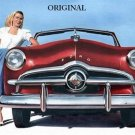 1949 Ford Cross Stitch Pattern Vintage Cars ETP