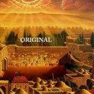 Jerusalem of Gold Cross Stitch Pattern Jewish ETP