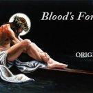Jesus' Blood 4 You Cross Stitch Pattern Christian Messianic ETP