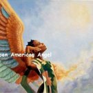 African American Angel Cross Stitch Pattern ETP