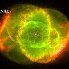 Cat's Eye Nebula Hubble Cross Stitch Pat Astronomy ETP