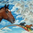 Barbaro In Heaven Cross Stitch Pattern Thoroughbred Horses ETP