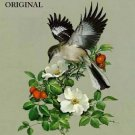 Mockingbird Cross Stitch Pattern Birds ETP
