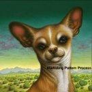 Chihuahua Cross Stitch Pattern Dogs ETP