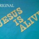 Jesus is Alive Cross Stitch Pattern Bible Christian ETP