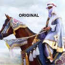 Handsome Arab on Arabian Cross Stitch Pattern Horses EPT