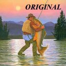 Fisherman's Love Affair Cross Stitch Pattern Game Fish ETP