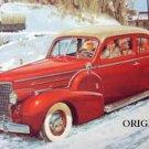 1940 Cadillac Cross Stitch Pattern Retro 40s Cars ETP
