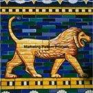 Ishtar Gate Tile Babylon Cross Stitch Pattern ETP