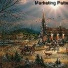 God Shed His Grace Cross Stitch Pattern Church ETP