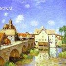 Moret Bridge ~ France Cross Stitch Pattern Landscape ETP