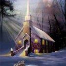 Rock of Ages Church Cross Stitch Pattern Jesus ETP