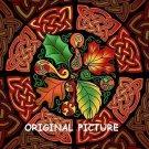 Celtic Autumn Cross Stitch Pattern Gaelic ETP