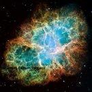 Crab Nebula Hubble Cross Stitch Pattern Astronomy ETP
