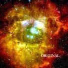 Rosette Nebula Hubble Cross Stitch Pattern Astronomy ETP