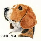 Beagle Portrait Cross Stitch Pattern Dogs ETP