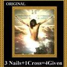 '4 Given' Cross Stitch Pattern Jesus Messianic ETP