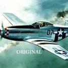 P-51 Mustang Cross Stitch Pattern WWII Aircraft ETP
