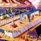 Tabernacle Mishkan Cross Stitch Pattern Jewish ETP